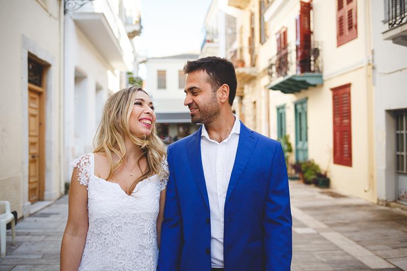 romantic wedding in nafplio ''Tolon Wedding
